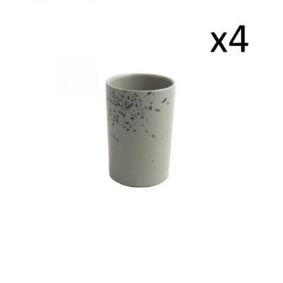 4er-Set High Cups Oskar Lea 360 ml l Hellblau