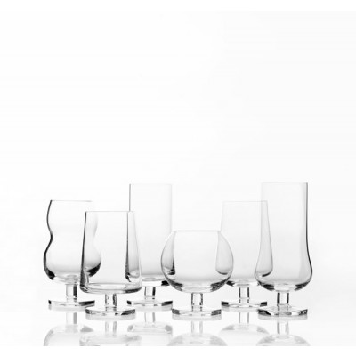 Forest set of 6 differrent glasses