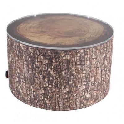 Waldkaffee-Tisch im Freien Trockenschaum