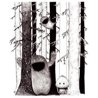 Waldfreunde Druck