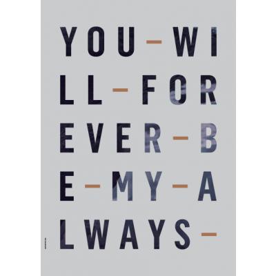 Just My Type Poster | Für immer und ewig