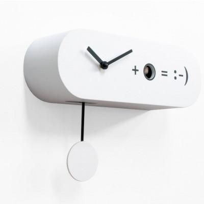 Formel Uhr | Weiß