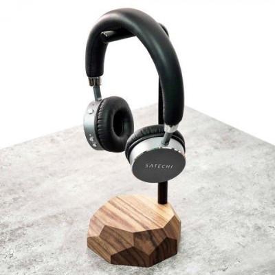 Kopfhörerständer | Walnuss