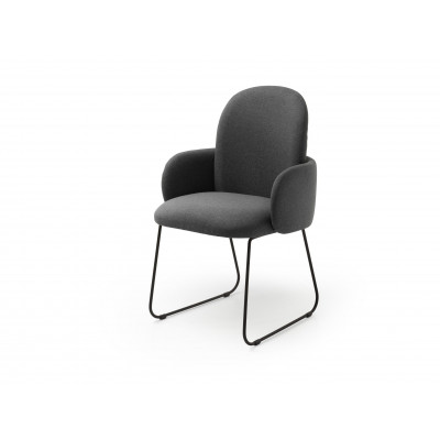 Dost Dinning Chair   Dark Grey