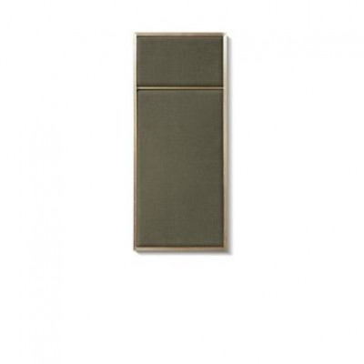 NOUVEAU PIN Oyster Grey & Brass | Small