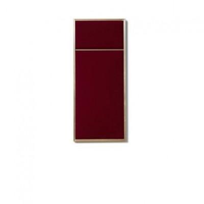 NOUVEAU PIN Rouge Noir & Brass | Small
