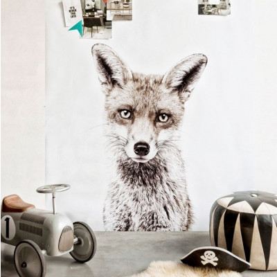 Magnettapete - Fuchs