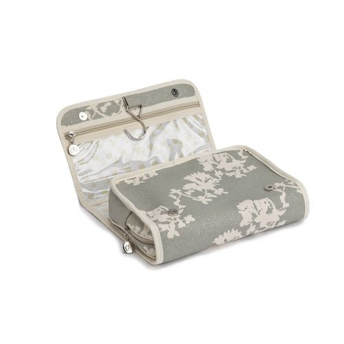 Fold Out Toiletry Bag Japan Silver
