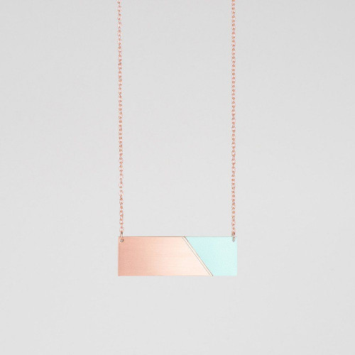 Bar-Halskette | Kupfer & Münzstätte
