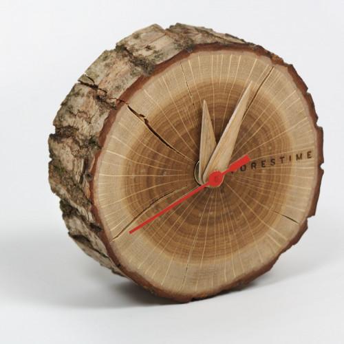 Tischuhr Vorzeit   Holz