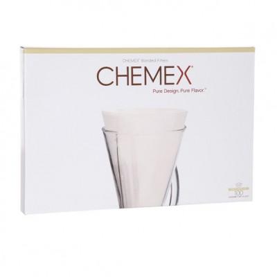 Chemex-Bonded® Coffee Filter | Unfolded Half Moon