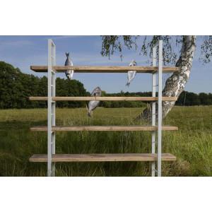 Sinem White Shelf | Brown Shelves