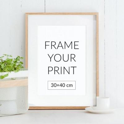 Holzrahmen für Poster | Eiche
