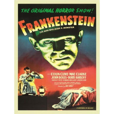 Poster Frankenstein | 40 x 60 cm