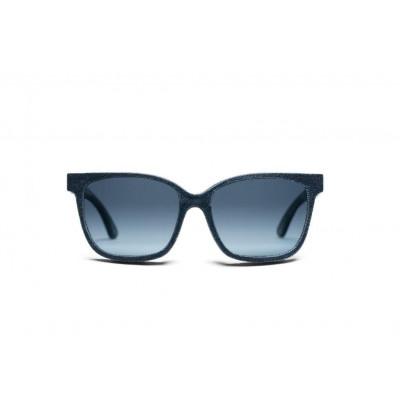 Frensel Denim Sunglasses | Marina Blue