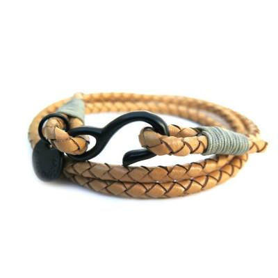 Bracelet   Tanned Leather Wraparound