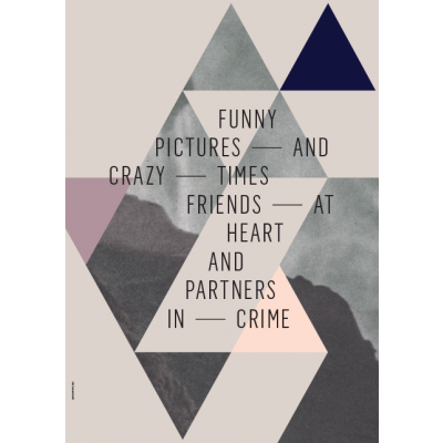 Geometry of Love Poster | Friends At Heart