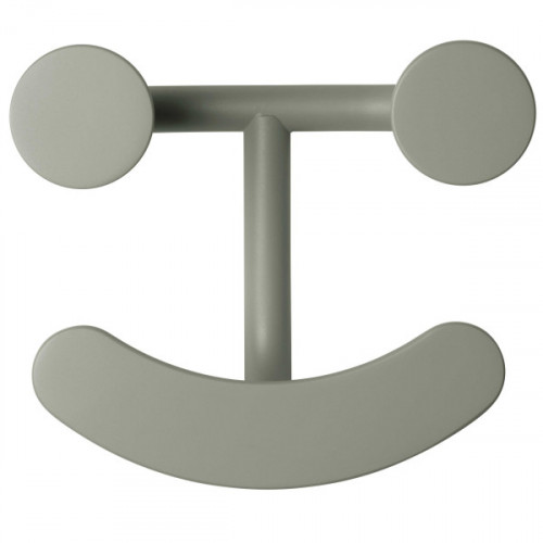 Wandhaken Happy Hook | Grau