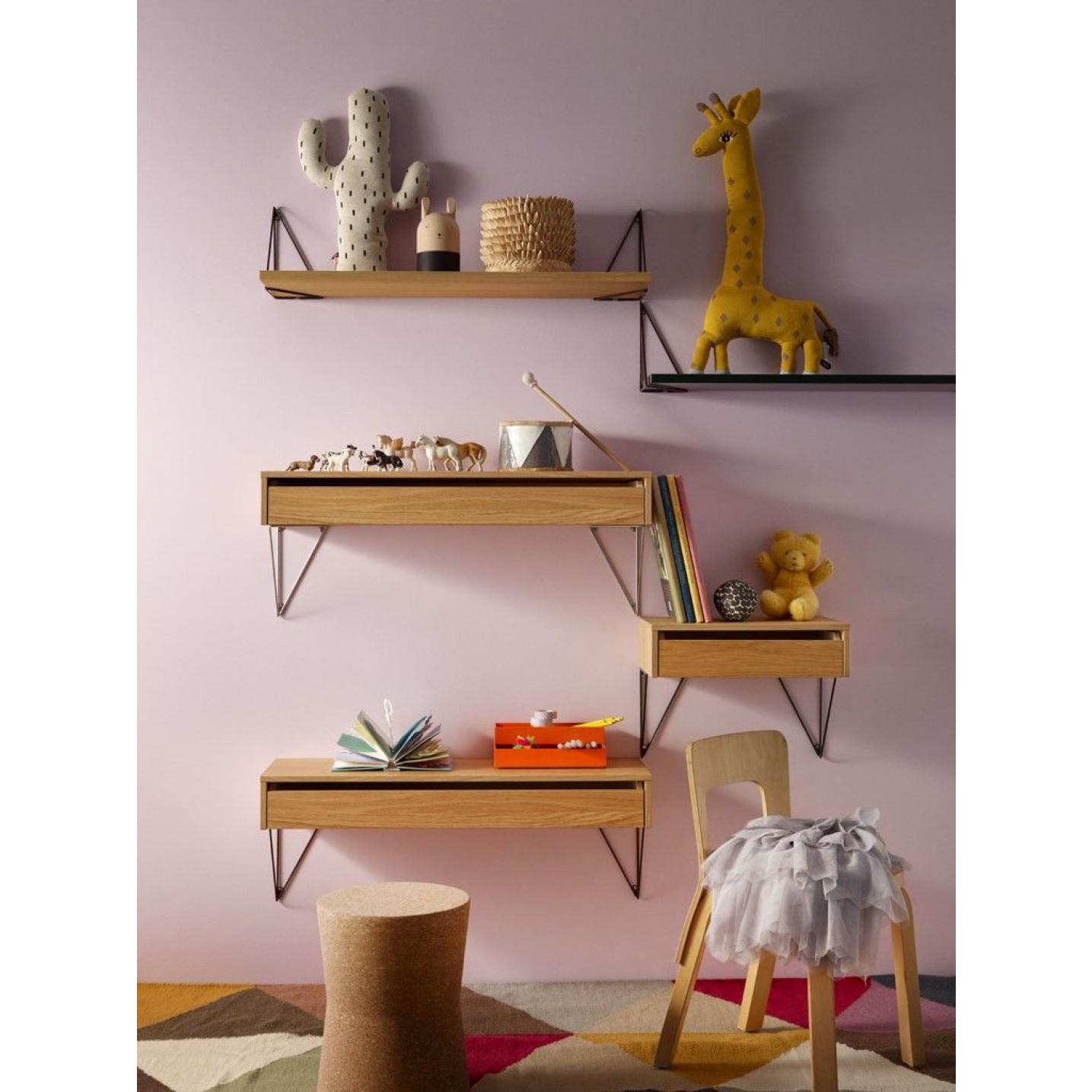 Shelf L 80 x 27 | Natural Oak