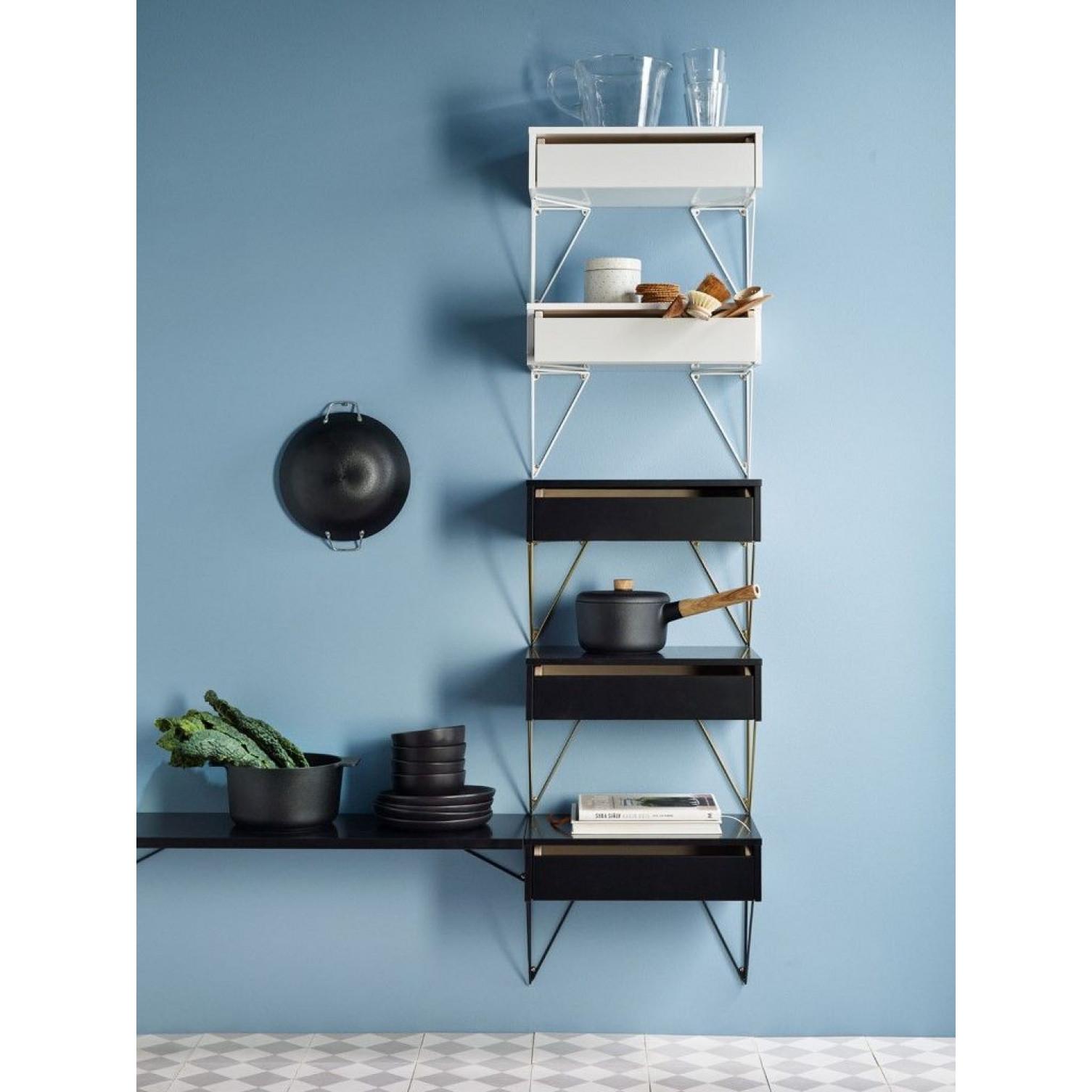 Shelf L 80 x 27 | Black