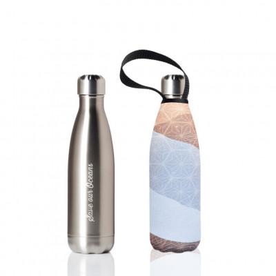 Trinkflasche & Tragehülle 500 ml | Siler & Erth Print