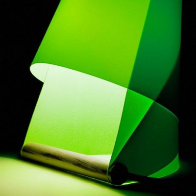 Furoshiki Tischlampe Grün