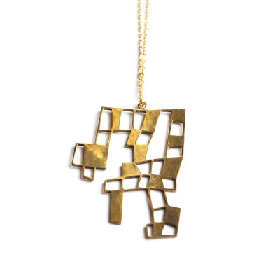 Not square - necklace NSN01