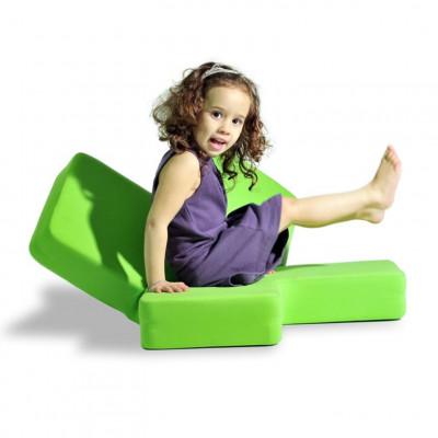 Baby von Angesicht zu Angesicht - Hoffnung grün