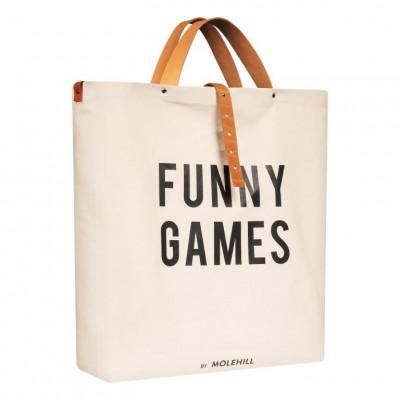 FUNNY GAMES Canvas Bag