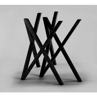 Tischbeine Mika | Schwarz