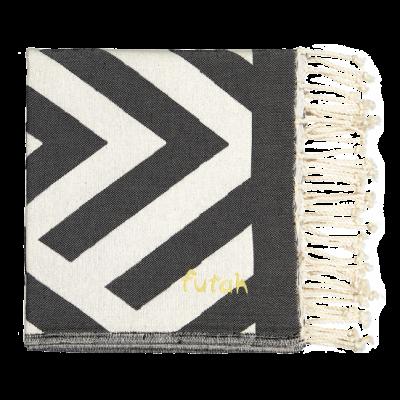 Beach Towel Benagil | Black & White