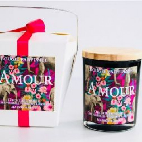 Duftende Kerze Orchidee   Amour
