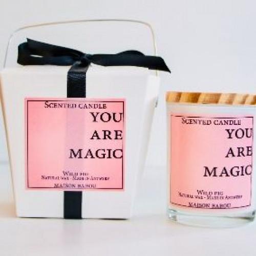 Duftkerze Wildfeige | Sie sind Magie