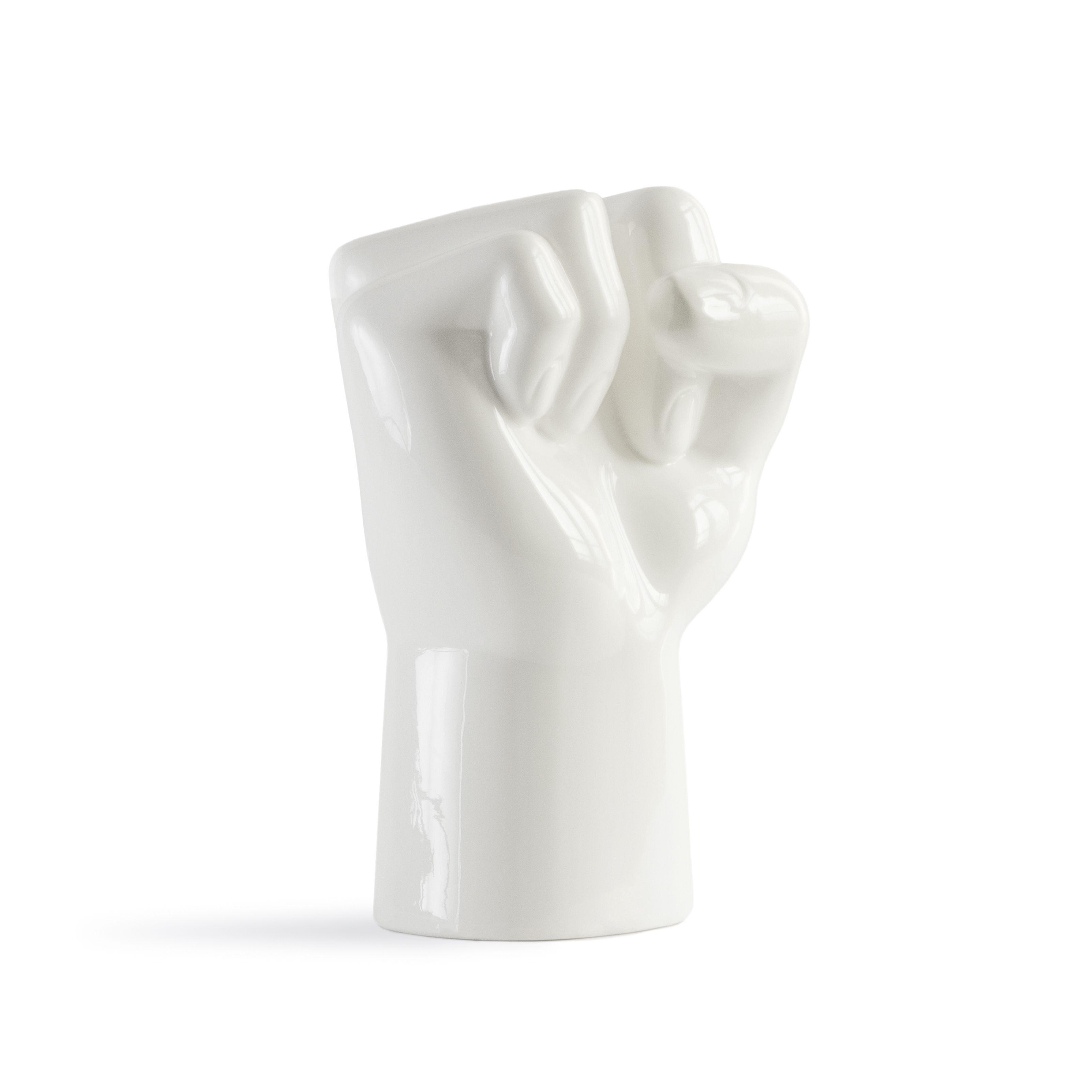 Vase FCK   Weiß