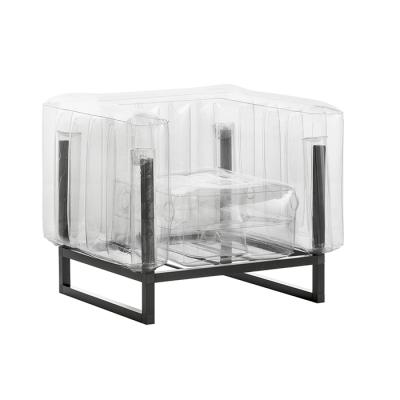 Sessel Yomi Aluminium   Transparent