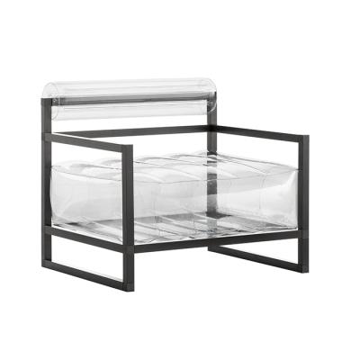 Sessel Yoko Aluminium   Transparent
