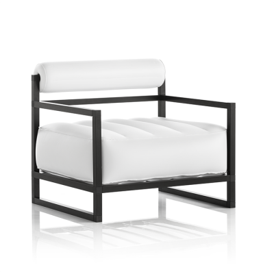 Sessel Yoko Aluminium   Weiß