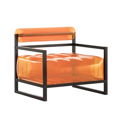 Sessel Yoko Aluminium   Orange