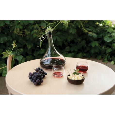 Blob Decanter + 2 water/wineglasses