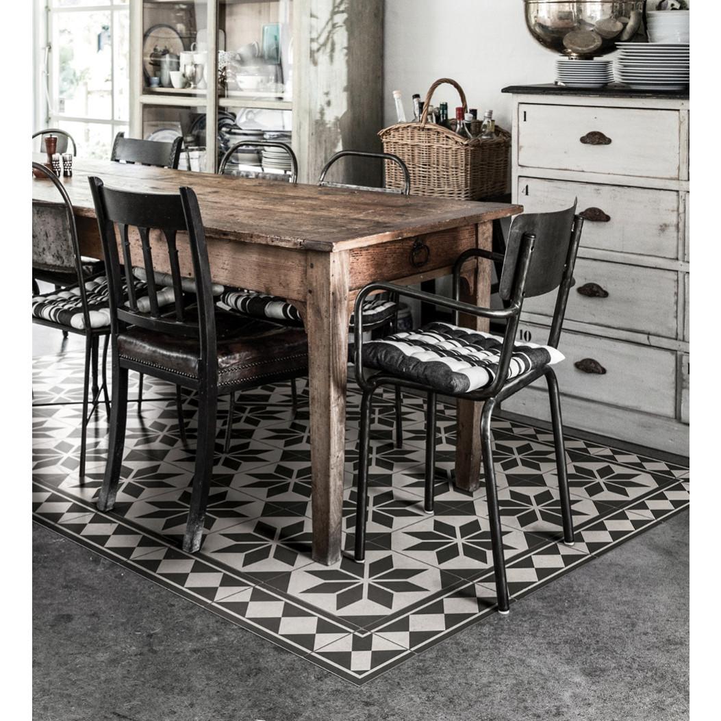 Beija Flor Vinyl Floor Mat Gothic, Vinyl Floor Mats For Dining Room