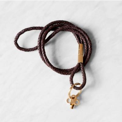 Key Keychain | Dark Brown