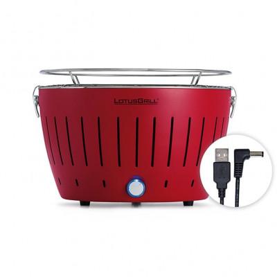 LotusGrill Portable BBQ & Grill Mini | Red