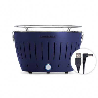 LotusGrill Portable BBQ & Grill Mini | Deep Blue