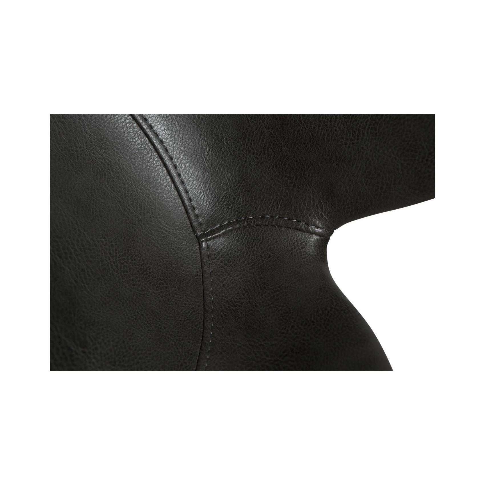 Bar Stool Gaia Vintage Artificial Leather | Grey