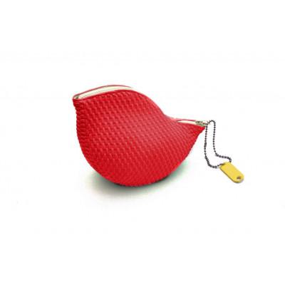 Waschtasche Goosebump | Rot