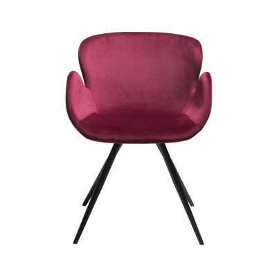 Chair Gaia Velvet | Ruby