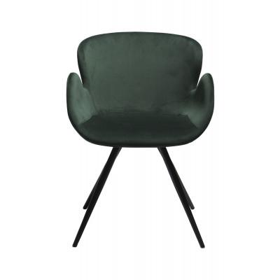 Stuhl Gaia Velvet | Grün