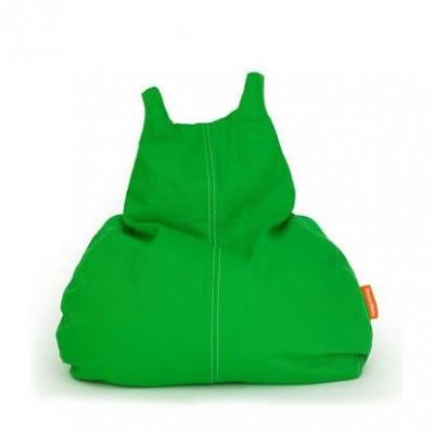HappyCat Sitzsack aus Baumwollsegeltuch Groß   Grün