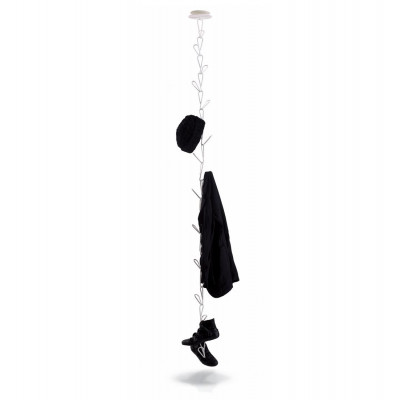 Gang Ceiling-mounted clothes-hanger white