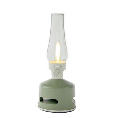 LED-Laterne mit Bluetooth-Lautsprecher   Hausgarten